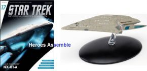 Star Trek Official Starships Collection #017 USS Dauntless Eaglemoss